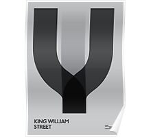 Off The Map | King William Street Poster