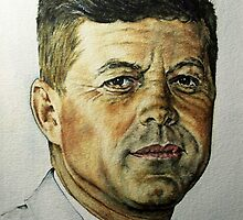 JFK - Tribute To Rockwell by GZilloCreations