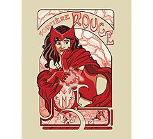 Sorcière Rouge Photographic Print