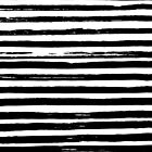 Stripes - Mono by Amy Walters
