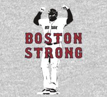 Boston Strong - David Ortiz by trevorbrayall