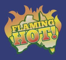 FLAMING HOT with aussie map and fire! by jazzydevil