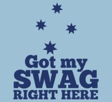 GOT MY SWAG right here in blue with Australian Southern Cross by jazzydevil