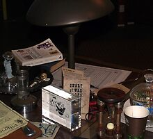 The Torchwood Hub - Jack's Desk by simonbreeze
