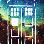 Tardis Galaxy by Jessie Smart