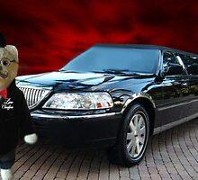 Teddy Bear Limousine Chauffeur Card/Picture by ╰⊰✿ℒᵒᶹᵉ Bonita✿⊱╮ Lalonde✿⊱╮