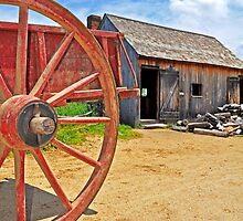 So Much Depends Upon a Red Wagon Wheel by Caleb Ward