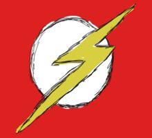 drawn flash symbol by Jonathon Measday