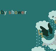 Flying Turtle Baby Shower Invites by SaradaBoru