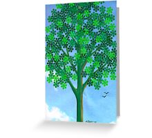 FLORAL PUNCH FLOWERS Greeting Card