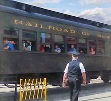 Trains - All Aboard by Susan Savad