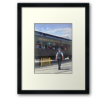 Trains - All Aboard Framed Print