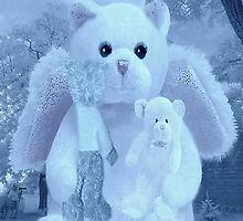❀◕‿◕❀HUGS,A KISS AND AFFECTION FROM A BEARY SPECIAL ANGEL CARD/PICTURE VERSION TWO❀◕‿◕❀ by ╰⊰✿ℒᵒᶹᵉ Bonita✿⊱╮ Lalonde✿⊱╮