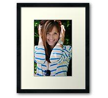 Neighbor Girl 3 Framed Print