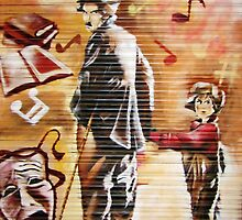 THE KID (Charlie Chaplin, 1921) by StreetArtCinema