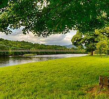 ABERLOUR SEAT ON THE SPEY by JASPERIMAGE