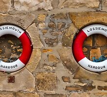 LOSSIEMOUTHS HARBOUR RINGS by JASPERIMAGE