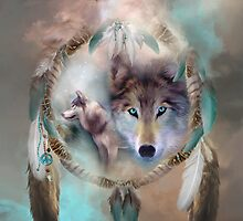 Wolf - Dreams Of Peace by Carol  Cavalaris