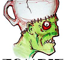 coffee zombie by byronrempel