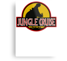 Jungle Cruise Park (WITH TEXT) Metal Print