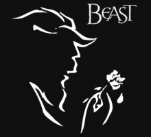 Beauty and the Beast Couple Shirt  by taydizzle25