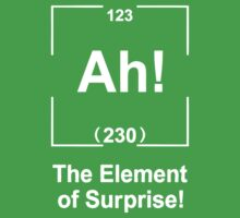 Ah! The element of surprise T Shirt by cerenimo