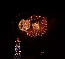 Fireworks at Californifia by FangFeatures