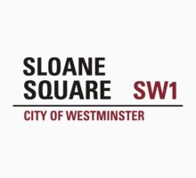 Sloane Square Sign by StreetsofLondon