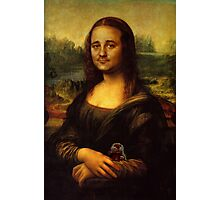 Bill Murray as Mona Lisa Photographic Print