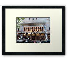 NYC City Centre Building Framed Print