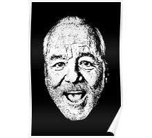 Bill F'N Murray Poster
