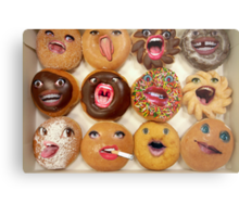 Freaking Donuts Metal Print