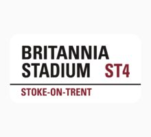 Britannia Stadium Sign by StreetsofLondon