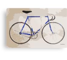 The Gios Track Bike Metal Print