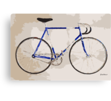 The Gios Track Bike Canvas Print
