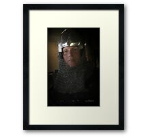 The Owner Of The Sword Framed Print