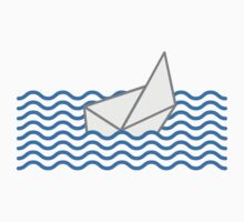 Sinking Paper Boat Design by Style-O-Mat