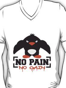 No Pain No Gain Penguin T-Shirt