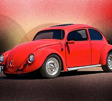 1966 Volkswagon 'California Style' by DaveKoontz
