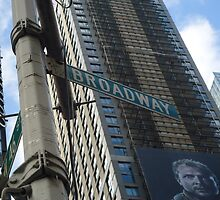 New York City - Broadway  by paddler99