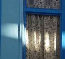 Blue Window by Digby