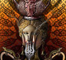 KITCHEN GODDESS by Larry Butterworth