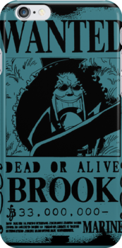 Brook Wanted Poster by HellFury