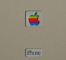 Original Apple Macintosh vintage iPhone case by GreenSpeed