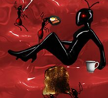 ✿♥‿♥✿WORKER ANTS PREPARING BREAKFAST FOR QUEEN ANT CARD/PICTURE ✿♥‿♥✿ by ╰⊰✿ℒᵒᶹᵉ Bonita✿⊱╮ Lalonde✿⊱╮