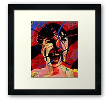 Shower scene from Psycho Framed Print