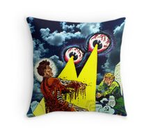 Self Portrait with Eyes Throw Pillow