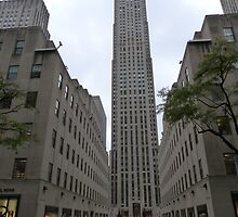 NYC Skyscraper by FangFeatures