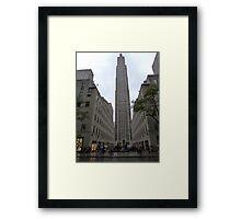 NYC Skyscraper Framed Print