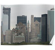 NYC Skyscrapers Poster